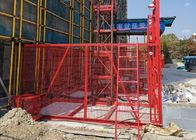 Building Material Construction Hoist Elevator For Residential / Industrial